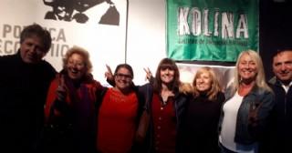 Kolina Rojas recibió a sus compañeros de Chivilcoy